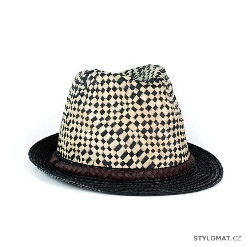 861c2b07645 Kostkovaný slamák - Art of Polo - Pánské klobouky a kšiltovky