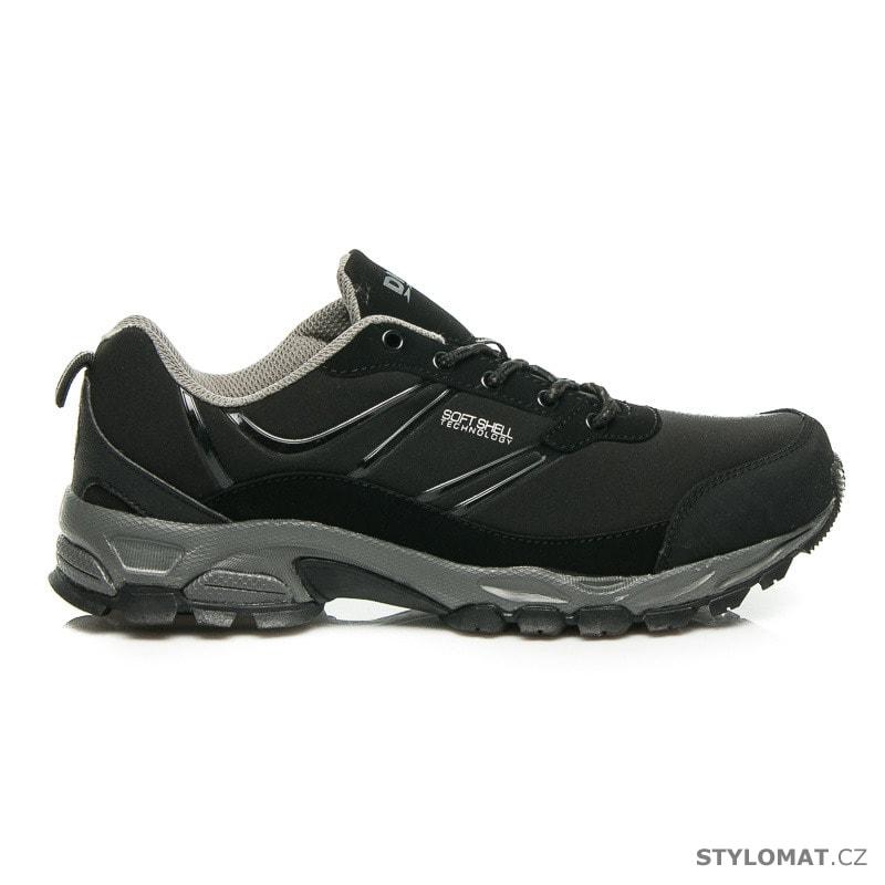 Černé softshellové boty - DK - Tenisky 22152add73