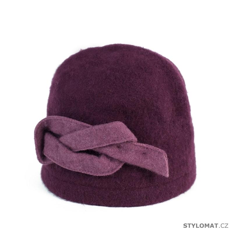186ff22de26 Klobouk Uroboros vlněný tmavě fialový - Art of Polo - Dámské vlněné ...