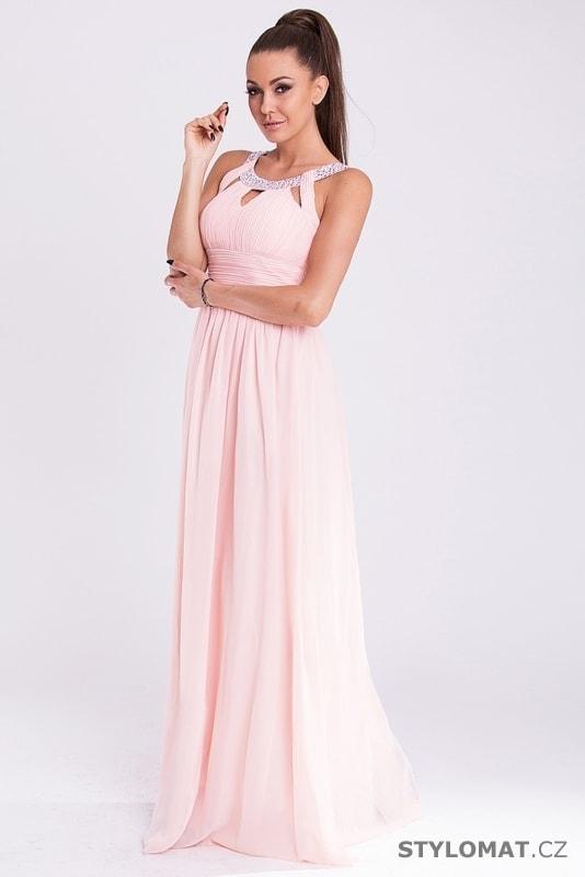 Eva a Lola šaty růžové - Eva Lola - Dlouhé společenské šaty d5ede825f3
