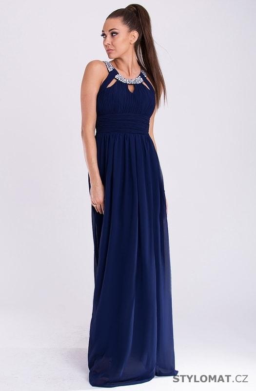 Eva a Lola šaty modré - Eva Lola - Dlouhé společenské šaty e779c46511
