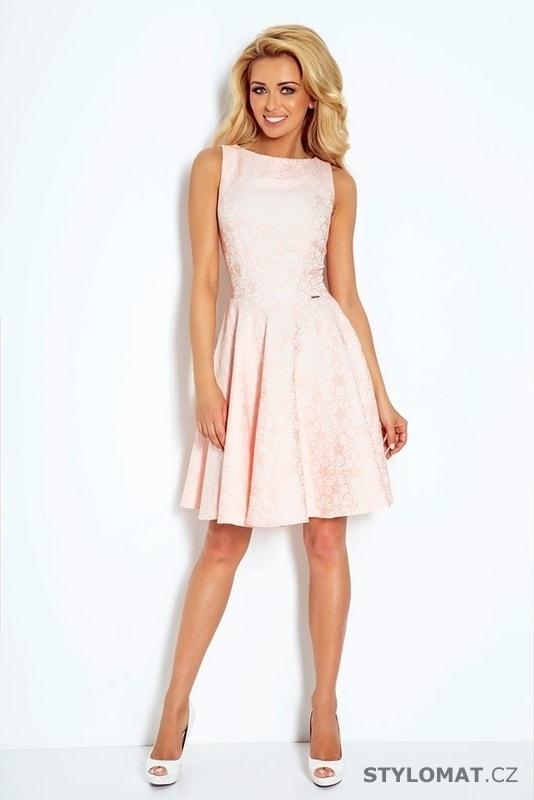 9d1975d1b82 ... Krátké společenské šaty    Světle růžové dámské šaty 98-5. Previous   Next
