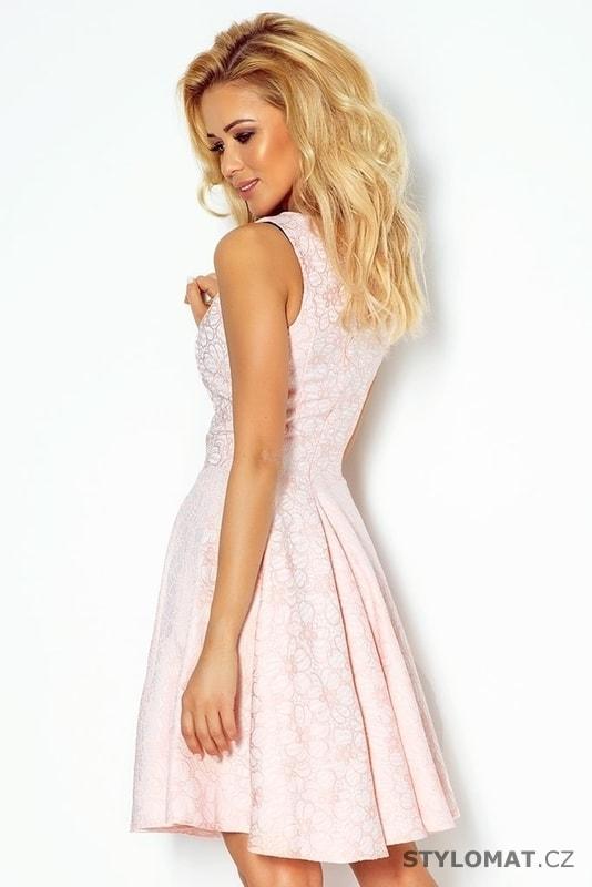 ... Krátké společenské šaty    Světle růžové dámské šaty 98-5. Previous   Next 4e22b8be6e
