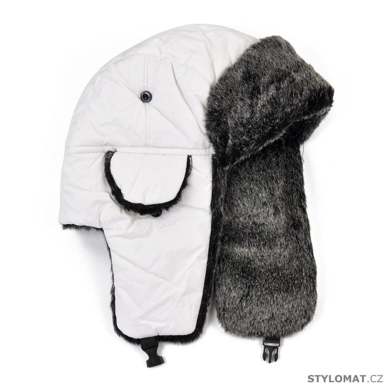 Bílá unisex ušanka - Art of Polo - Zimní dámské ušanky 7a015be93f