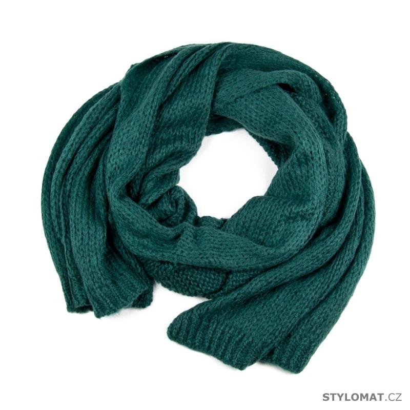 7c24718b1c5 Mohérový šál zelený - Art of Polo - Dámské zimní šály