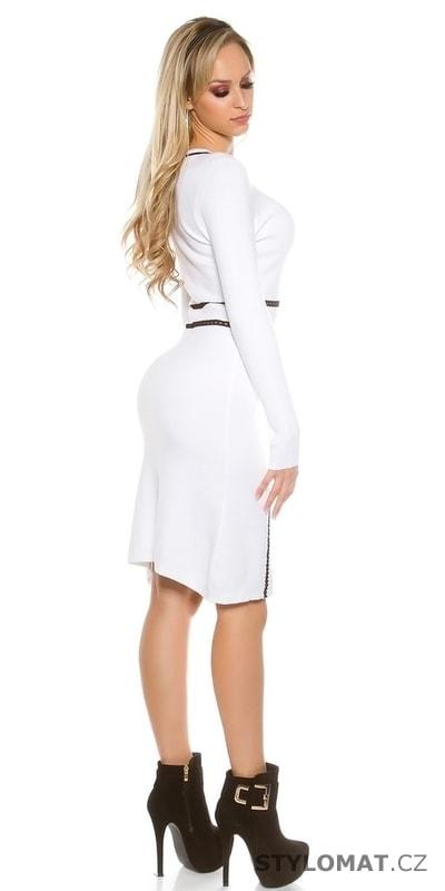 6b3a9e0c521 ... Jarní šaty    Dámské elegantní bílé šaty. Previous  Next