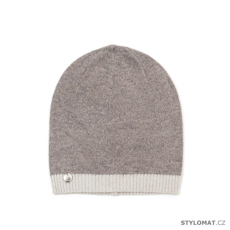 f5e32442087 Kašmírová čepice Streetwear béžová - Art of Polo - Teplé (zimní)