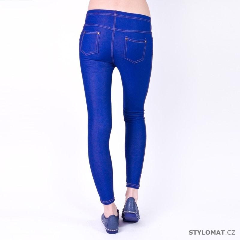 Modré jeansové legíny - Art of Polo - Legíny 0eecbc1911