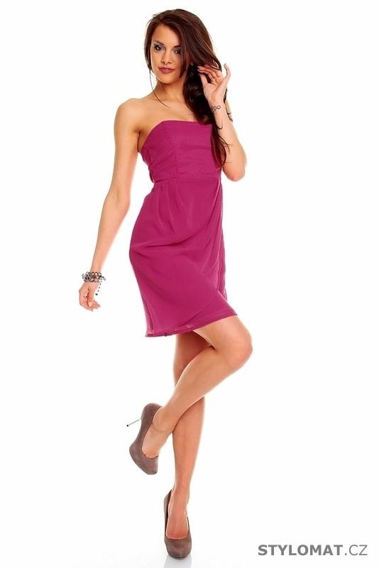3b05079e029 Společenské šaty růžové - Mayaadi - Party a koktejlové šaty