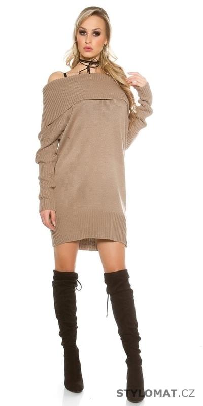Dámské šaty pletené - Koucla - Úpletové šaty df4623dfe0
