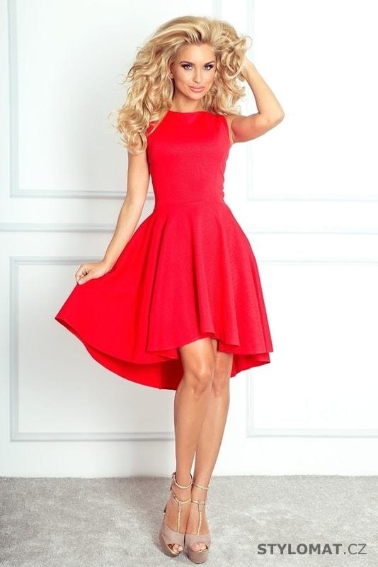 0b1e1da592e ... Krátké společenské šaty    Romantické červené asymetrické šaty.  Previous  Next