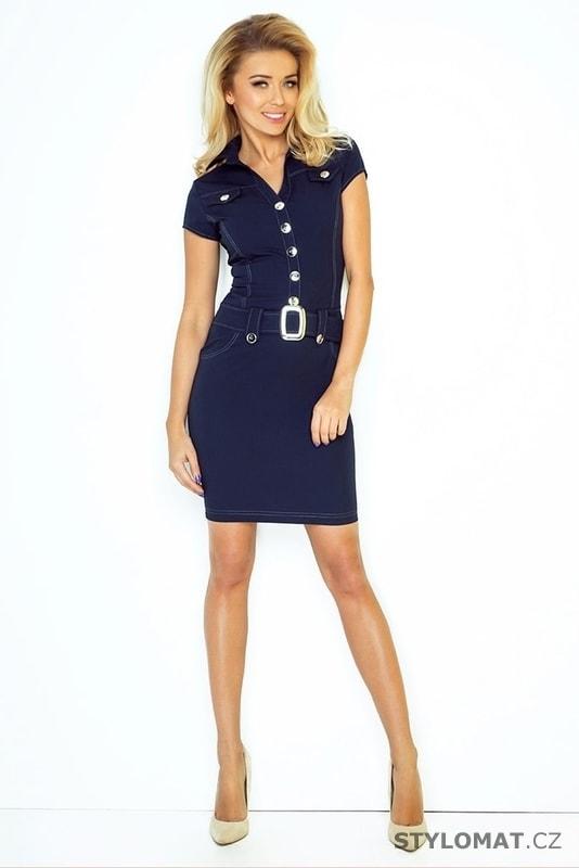 078d1e66a19 Dámské letní košilové šaty - Numoco - Krátké letní šaty