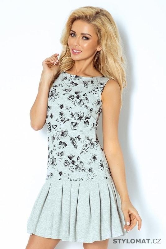 cf9b975f882 Dámské letní šaty s volánkem - Numoco - Krátké letní šaty