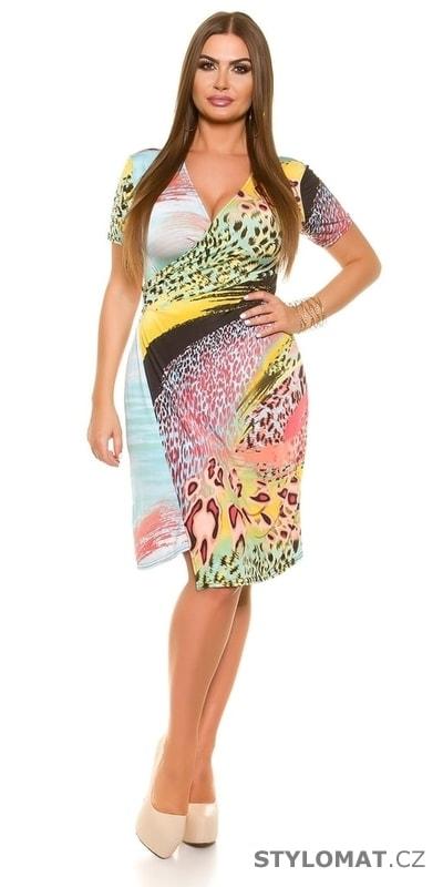 Elegantní letní šaty - Koucla - Krátké letní šaty c78483edde