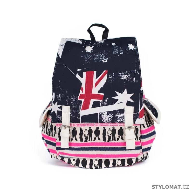 3072ae0e7ff Batoh British rock růžový - Art of Polo - Módní batohy