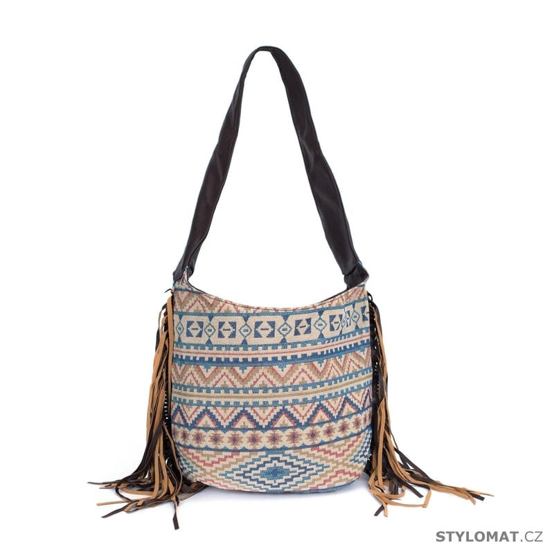 Kabelka stylové boho béžová - Art of Polo - Dámské kabelky a tašky f3a52089ea9