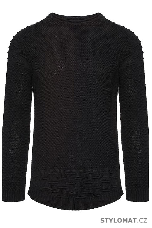 Pánský svetr černý - YNS - Svetry a mikiny 3fed07a46c