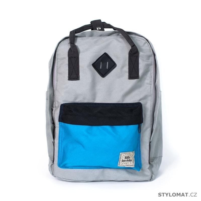 8198d3e73d2 Ležérní šedý batoh - Art of Polo - Módní batohy