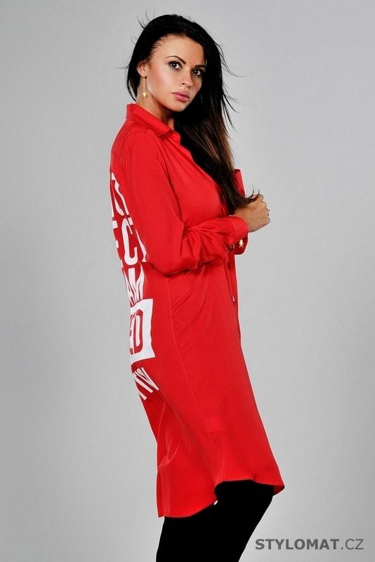 ... Dámské košilové šaty červené. Previous  Next af5fc08c1d
