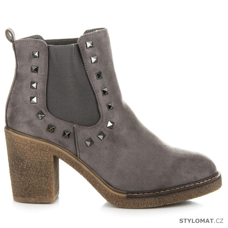 ... Dámská obuv    Kotníčkové boty    Boty se cvoky. Previous  Next ad4de18e6e