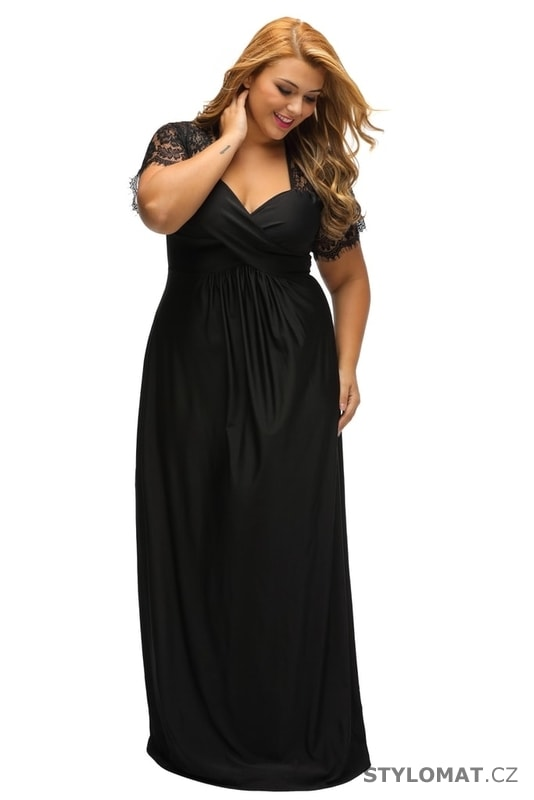Plesové šaty plus size - Damson - Šaty 11061150e2