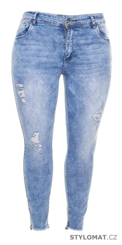 4fd1c24b795 Trendy džíny pro plnoštíhlé - Koucla - Jeansy