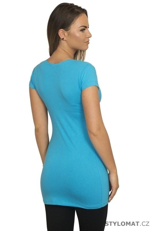 Modrá dámská delší tunika - Kesi - Tuniky d4a260cc70