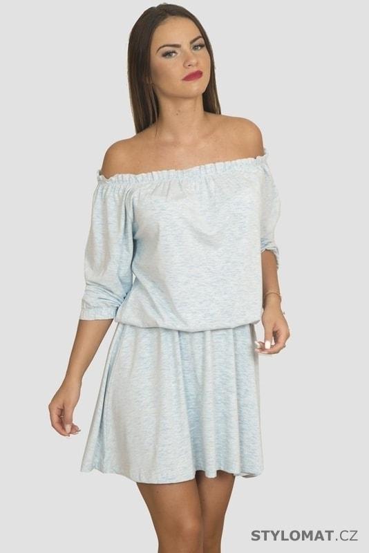 Dámské letní šaty Carmen style - Kesi - Krátké letní šaty 5eaa11fd897