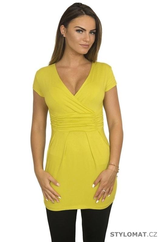 Žlutá dámská tunika - Kesi - Tuniky 0e1e37e514