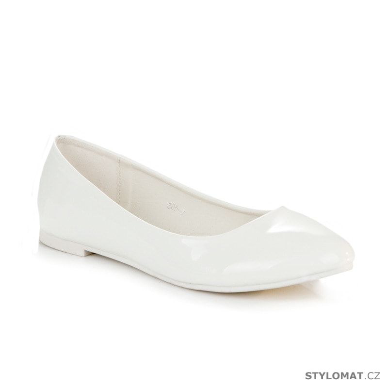 ... Baleríny    Bílé lesklé baleríny. Previous  Next bb2c0888e9