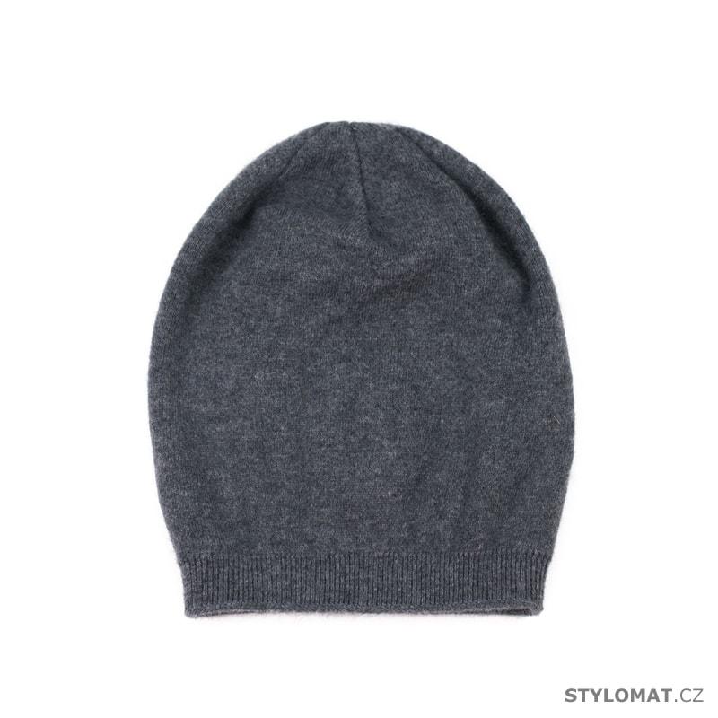 e083f0296c5 Tmavě šedá dámská čepice