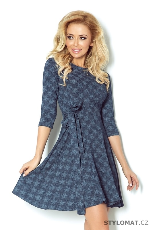 1ee7023a84f Dámské šaty s rozšířenou kolovou sukní - Numoco - Krátké letní šaty