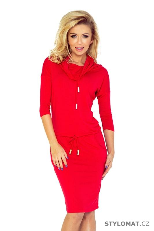 ce4c7f26607 Červené sportovní šaty - Numoco - Jarní šaty