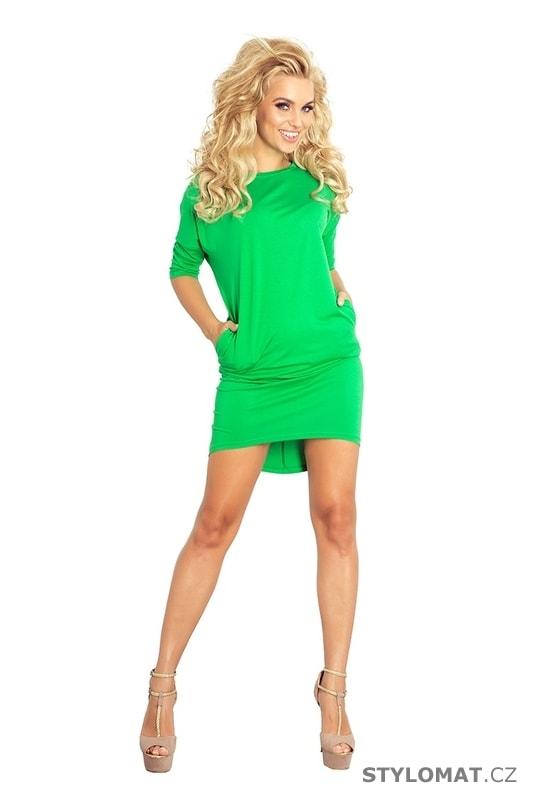 Tunikové šaty zelené - Numoco - Krátké letní šaty 989efd688d