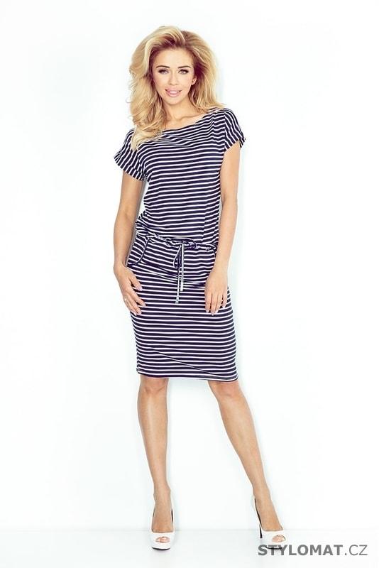 Sportovní šaty s krátkým rukávem - Numoco - Krátké letní šaty 5d6569c29e
