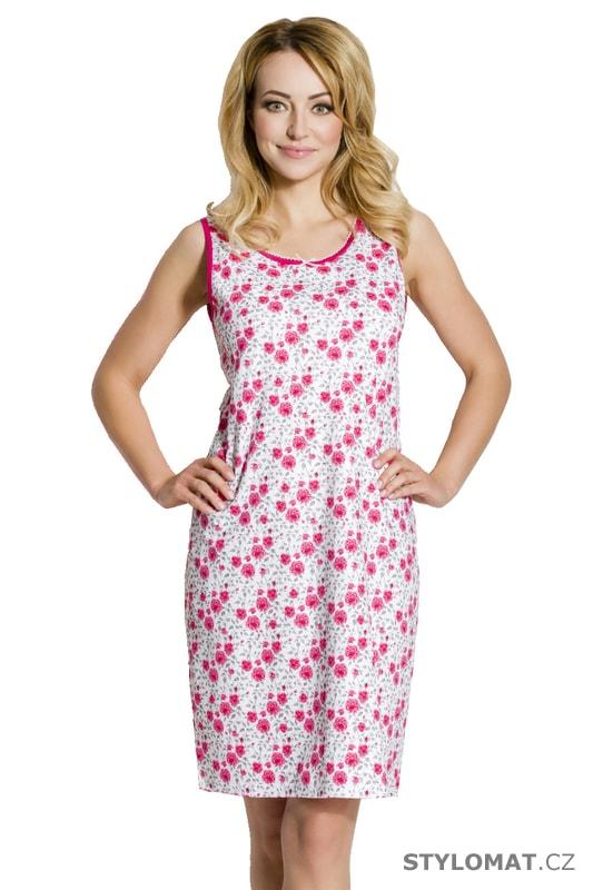 Dámská noční košile Zira růžová - Regina - Krátké 6c2c97433a