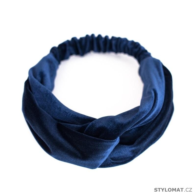 00132b3089c Látková čelenka modrá - Art of Polo - Čelenky