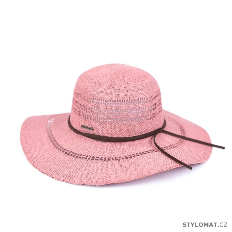 5bfdfc9c667 Elegantní letní klobouk růžový - Art of Polo - Dámské letní klobouky
