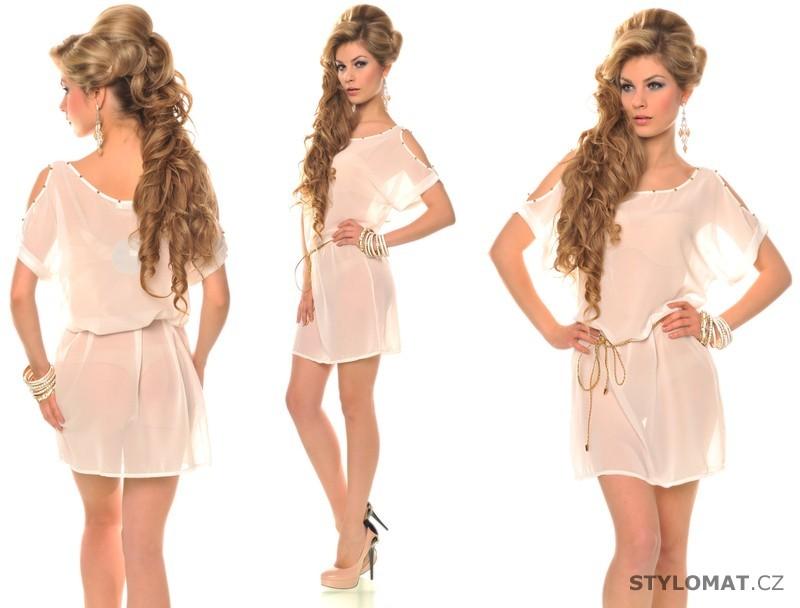 Trendy bílé letní šaty - Fashion - Krátké letní šaty 03534738c1