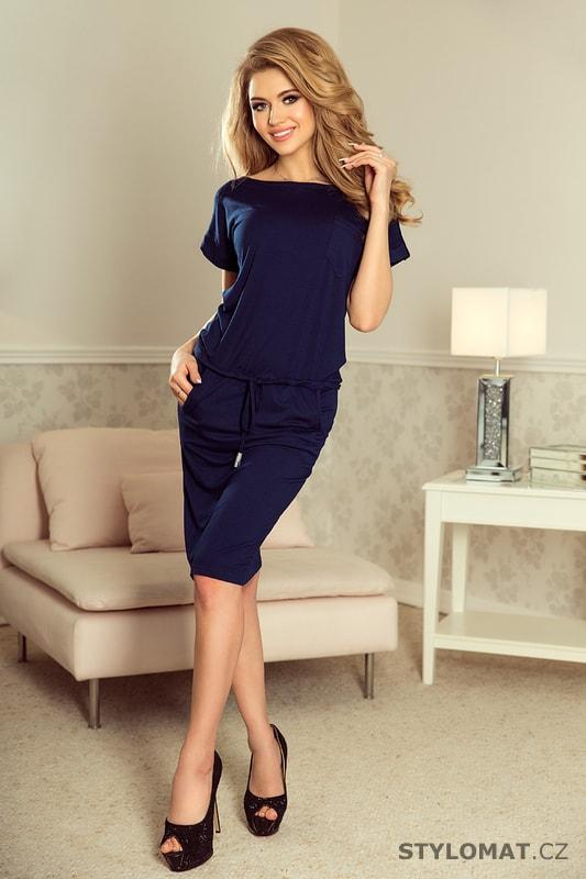 Sportovní šaty s krátkým rukávem a kapsami tmavě modré. Zvětšit. - 6%.  Previous  Next 1c41f1ab80