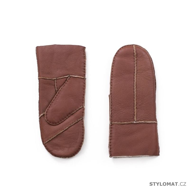 Stylové teplé rukavice hnědé - Art of Polo - Dámské rukavice fccd4aeb36