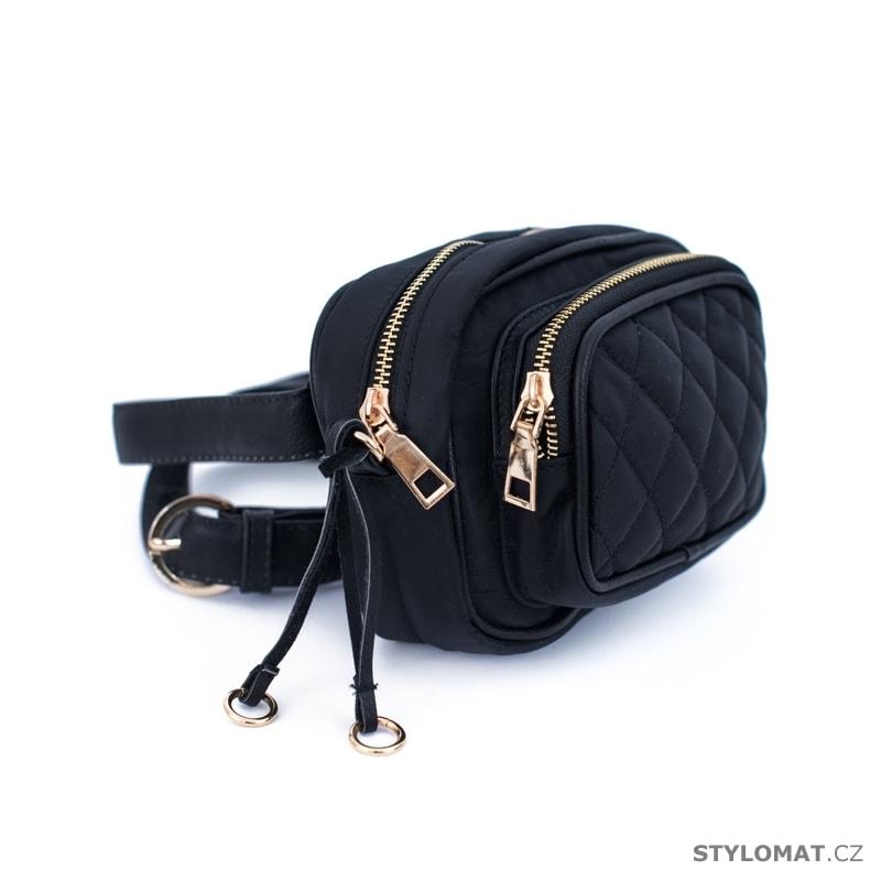 98020e19fb9 Černá dámská ledvinka - Art of Polo - Dámské kabelky a tašky