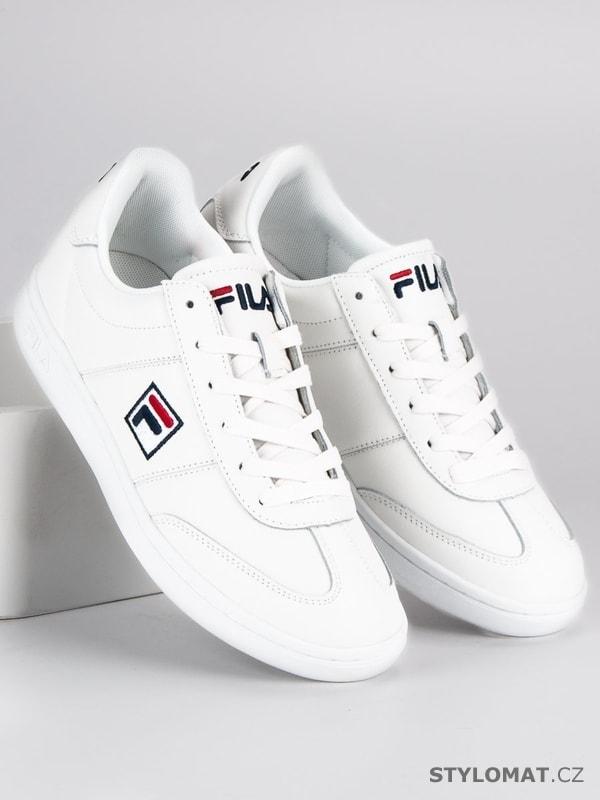 Fila portland l. low bílé - Fila - Sportovní pánská obuv ff6d13e673b
