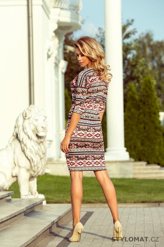 56e1c6c7ab0 Ležérní podzimní šaty s indiálnským vzorem. Zvětšit. - 5%. Previous  Next