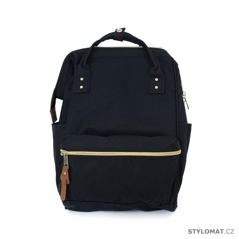 75f9516d8b4 Jednoduchý černý batoh - Art of Polo - Módní batohy