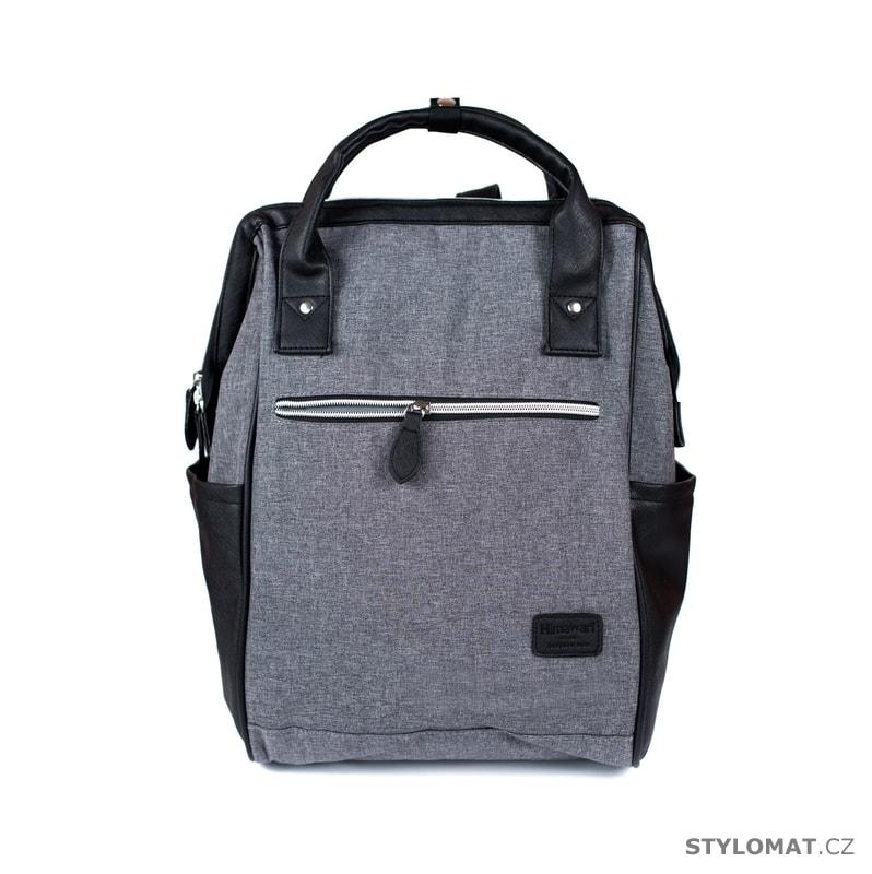 2f0a8e486b2 Elegantní batoh šedý - Art of Polo - Módní batohy