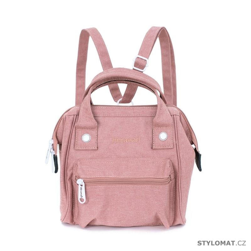 1fa0f376f44 Růžový mini batoh - Art of Polo - Módní batohy
