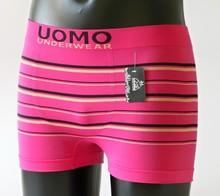 Pánské růžové bezešvé boxerky