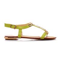 Ploché dámské sandálky U396GR