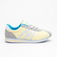 Lehké sportovní boty žluté